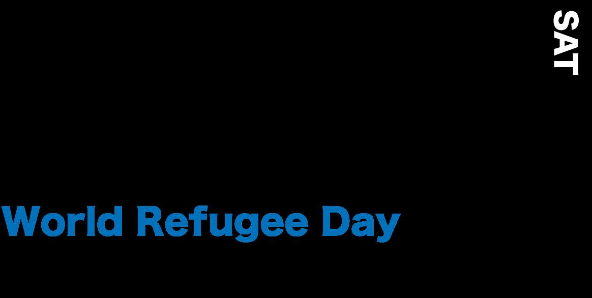 2020年6月20日(土) 世界難民の日 World Refugee Day From 17:00 To 18:30